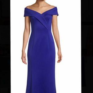Eliza J Trumpet Off the Shoulder Dress/Gown